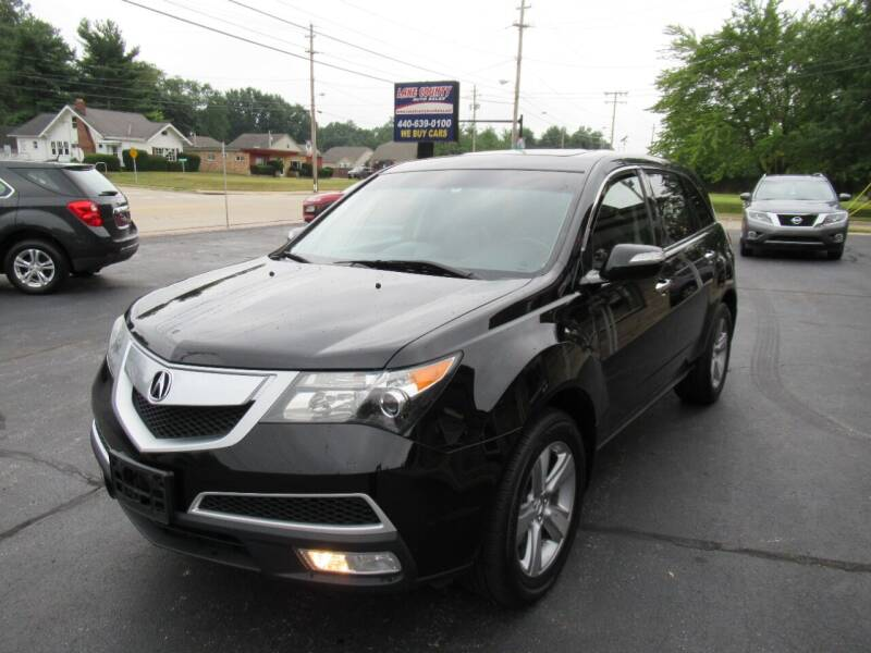 2011 Acura MDX for sale at Lake County Auto Sales in Painesville OH