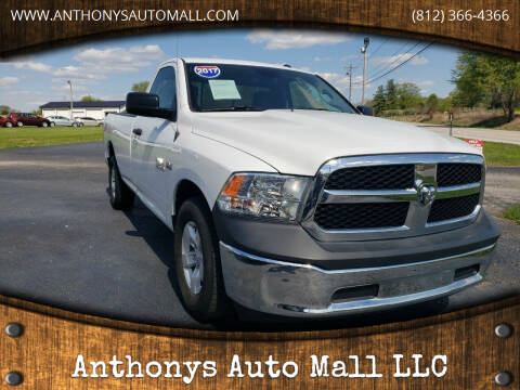 2017 RAM Ram Pickup 1500 for sale at Anthonys Auto Mall LLC in New Salisbury IN