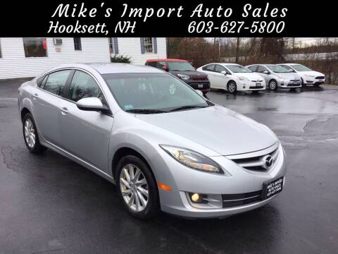 2012 Mazda MAZDA6 for sale at Mikes Import Auto Sales INC in Hooksett NH