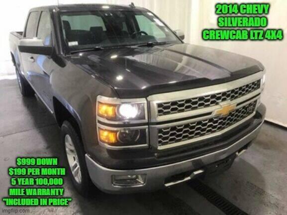 2014 Chevrolet Silverado 1500 for sale at D&D Auto Sales, LLC in Rowley MA