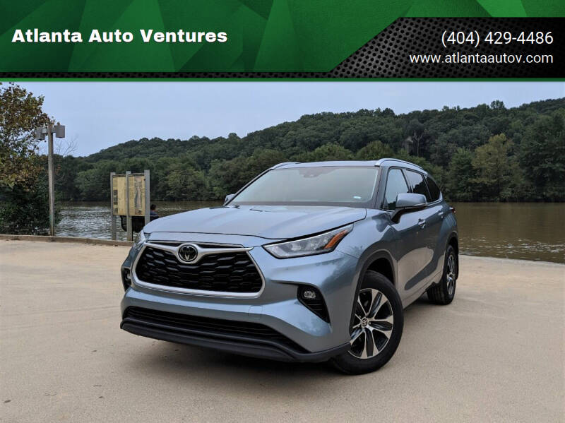 2020 Toyota Highlander for sale at Atlanta Auto Ventures in Roswell GA