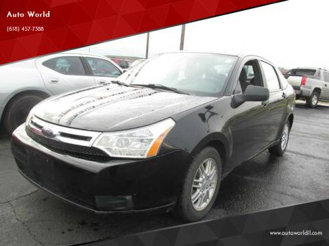 2009 Ford Focus for sale at Auto World in Carbondale IL
