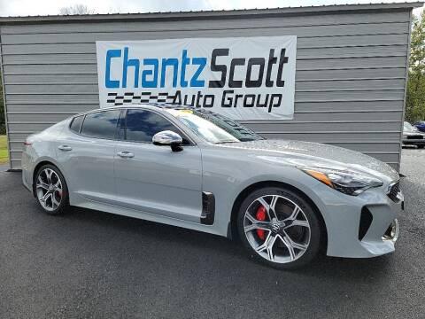 2019 Kia Stinger for sale at Chantz Scott Kia in Kingsport TN