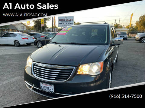 2012 Chrysler Town and Country for sale at A1 Auto Sales in Sacramento CA