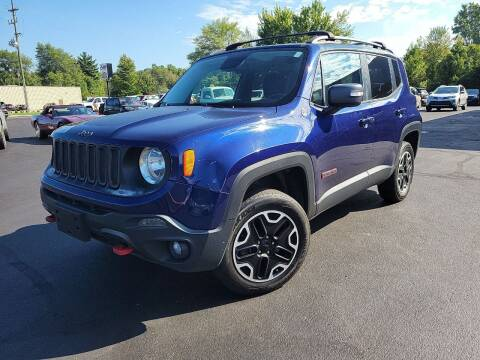 2016 Jeep Renegade for sale at Cruisin' Auto Sales in Madison IN