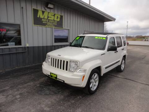 2010 Jeep Liberty for sale at Moss Service Center-MSC Auto Outlet in West Union IA