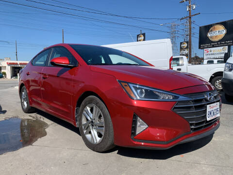 2020 Hyundai Elantra for sale at Best Buy Quality Cars in Bellflower CA