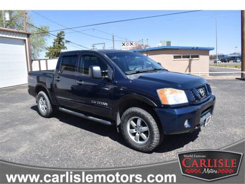2010 Nissan Titan for sale at Carlisle Motors in Lubbock TX