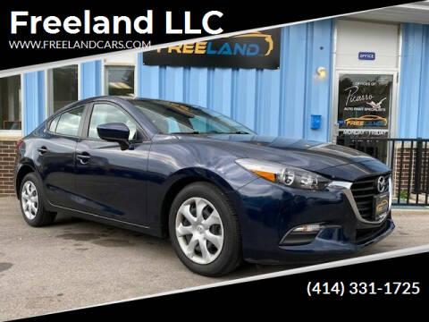 2017 Mazda MAZDA3 for sale at Freeland LLC in Waukesha WI