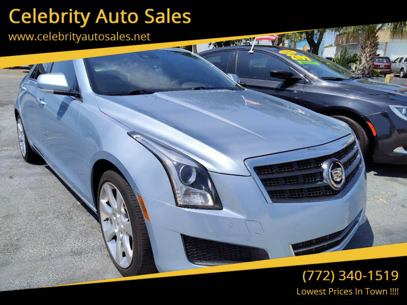 2013 Cadillac ATS for sale at Celebrity Auto Sales in Port Saint Lucie FL