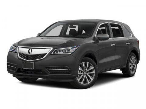2016 Acura MDX for sale at STG Auto Group in Montclair CA