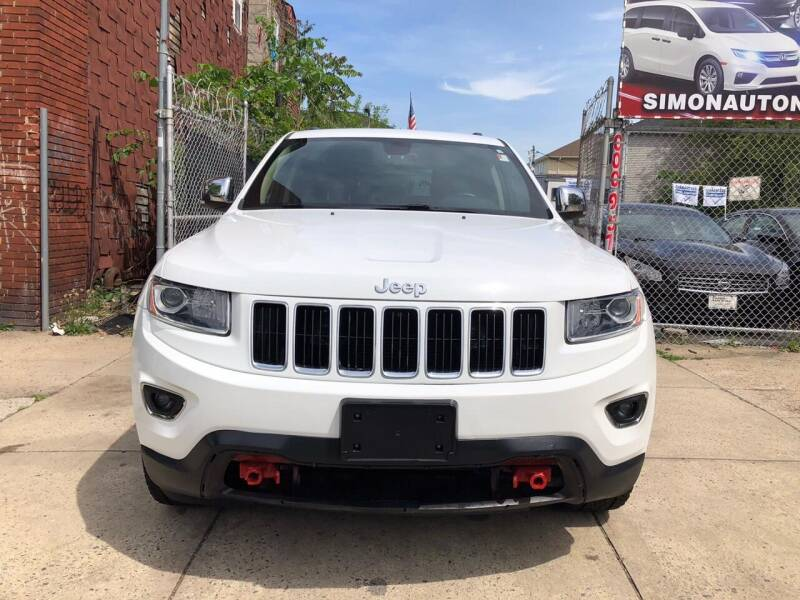 2015 Jeep Grand Cherokee 4x4 Limited 4dr SUV - Newark NJ
