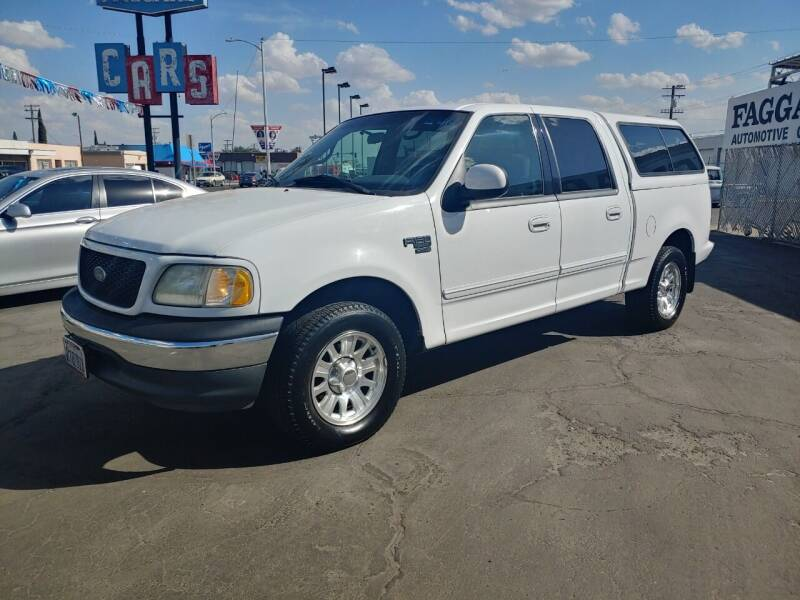 2001 Ford F-150 for sale at Faggart Automotive Center in Porterville CA