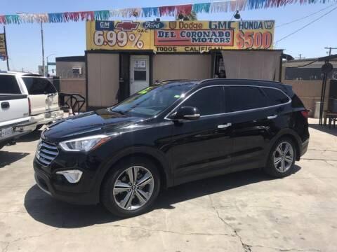 2015 Hyundai Santa Fe for sale at DEL CORONADO MOTORS in Phoenix AZ