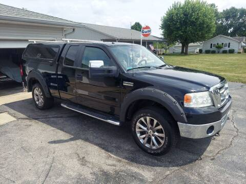 2008 Ford F-150 for sale at CALDERONE CAR & TRUCK in Whiteland IN