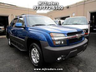 2003 Chevrolet Avalanche for sale at M J Traders Ltd. in Garfield NJ