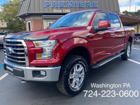 2016 Ford F-150 for sale at Premiere Auto Sales in Washington PA