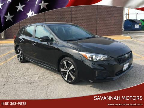 2018 Subaru Impreza for sale at Savannah Motors in Cahokia IL