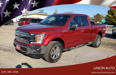 2018 Ford F-150 for sale at Union Auto in Union IA