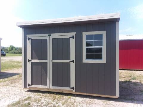 2021 PREMIER Portable Building's  PREMIER Urethane Cottage shed  for sale at Dave's Auto Sales & Service in Weyauwega WI