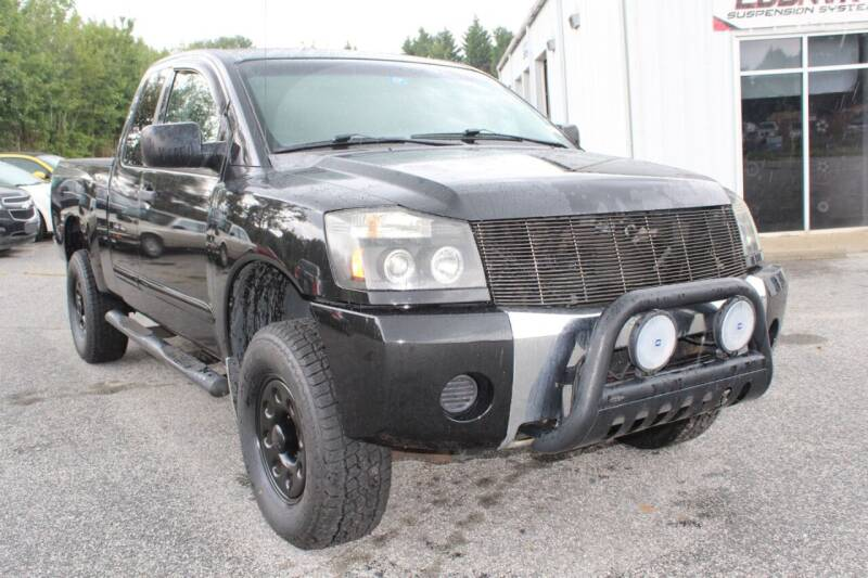 2005 Nissan Titan for sale at UpCountry Motors in Taylors SC