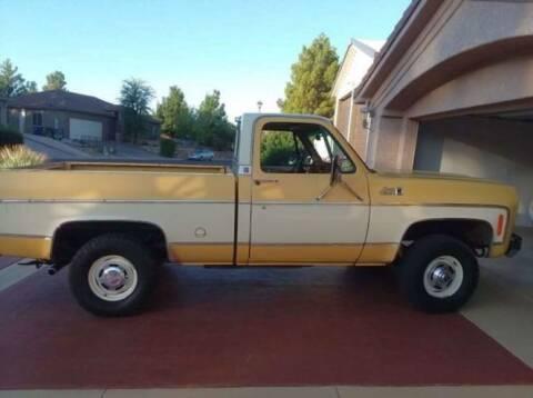 1977 GMC Sierra 2500 for sale at Classic Car Deals in Cadillac MI