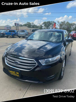 2014 Ford Taurus for sale at Cruze-In Auto Sales in East Peoria IL