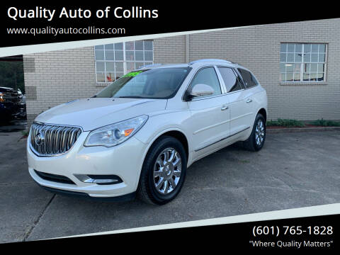 2013 Buick Enclave for sale at Quality Auto of Collins in Collins MS