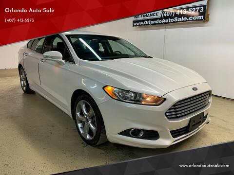 2013 Ford Fusion for sale at Orlando Auto Sale in Orlando FL