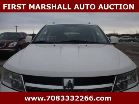 2010 Dodge Journey for sale at First Marshall Auto Auction in Harvey IL