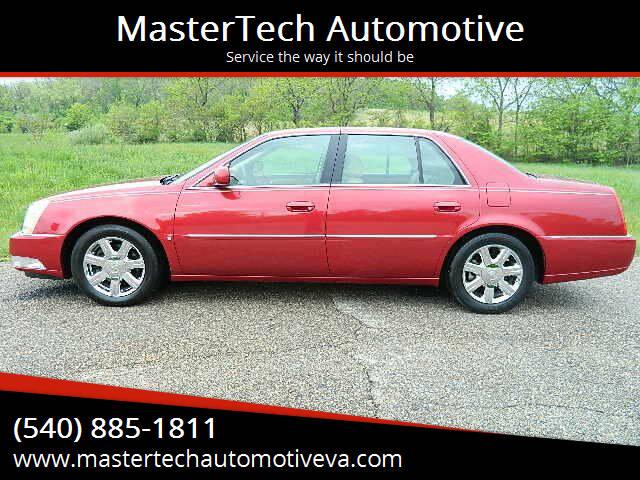 2007 Cadillac DTS for sale at MasterTech Automotive in Staunton VA