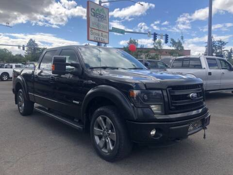 2013 Ford F-150 for sale at SIERRA AUTO LLC in Salem OR