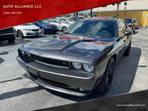 2013 Dodge Challenger for sale at AUTO ALLIANCE LLC in Miami FL