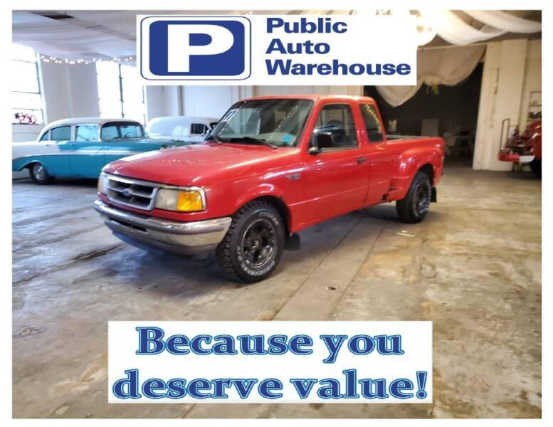 1997 Ford Ranger for sale at Public Auto Warehouse in Pekin IL