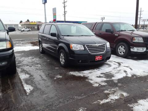 2010 Chrysler Town and Country for sale at BARNES AUTO SALES in Mandan ND