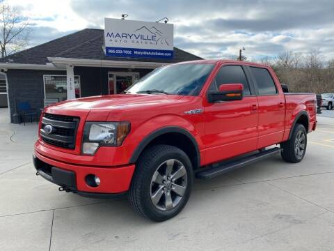 2013 Ford F-150 for sale at Maryville Auto Sales in Maryville TN