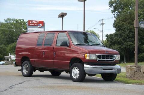 2002 Ford E-Series Cargo for sale at LaBelle Sales & Service in Bridgewater MA