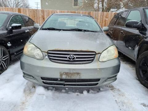 2003 Toyota Corolla for sale at LOT 51 AUTO SALES in Madison WI