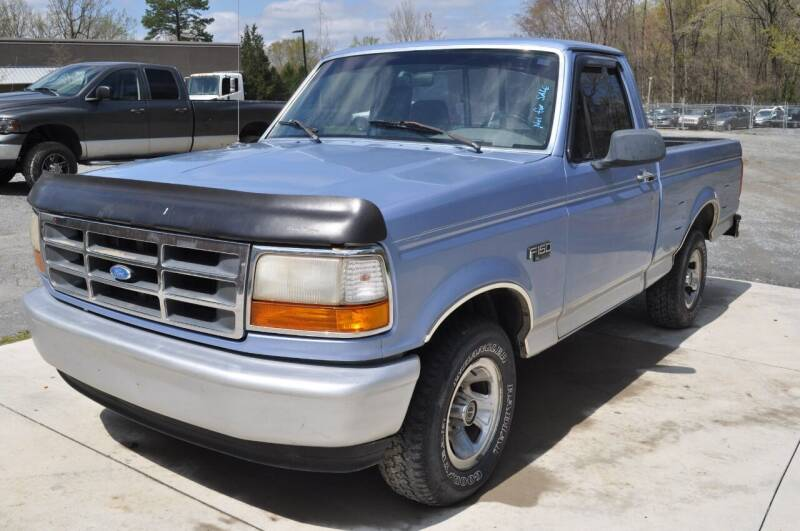 1996 Ford F-150 for sale at R & L Autos in Salisbury NC