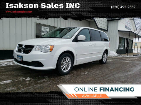 2014 Dodge Grand Caravan for sale at Isakson Sales INC in Waite Park MN