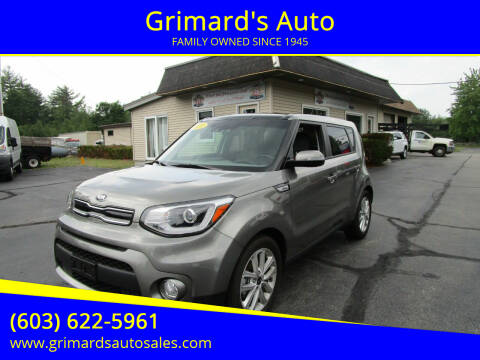 2019 Kia Soul for sale at Grimard's Auto in Hooksett NH