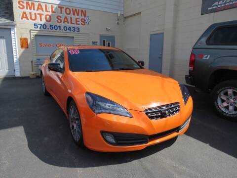 2010 Hyundai Genesis Coupe for sale at Small Town Auto Sales in Hazleton PA