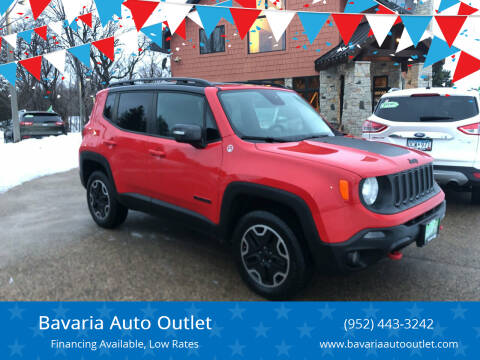 2016 Jeep Renegade for sale at Bavaria Auto Outlet in Victoria MN