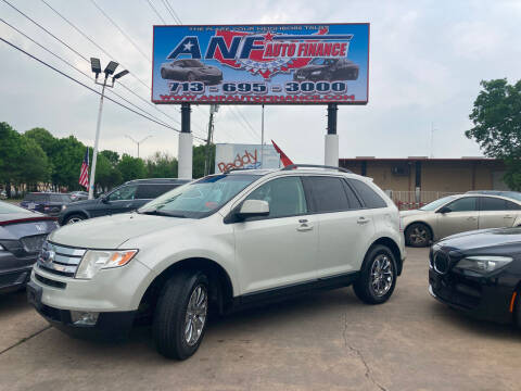 2007 Ford Edge for sale at ANF AUTO FINANCE in Houston TX