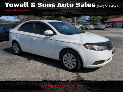 2010 Kia Forte for sale at Towell & Sons Auto Sales in Manila AR