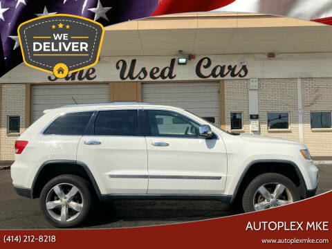 2012 Jeep Grand Cherokee for sale at Autoplexwest in Milwaukee WI