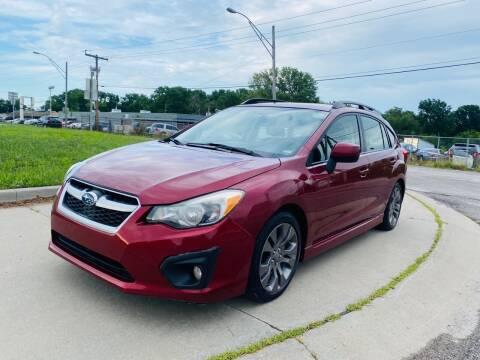 2013 Subaru Impreza for sale at Xtreme Auto Mart LLC in Kansas City MO
