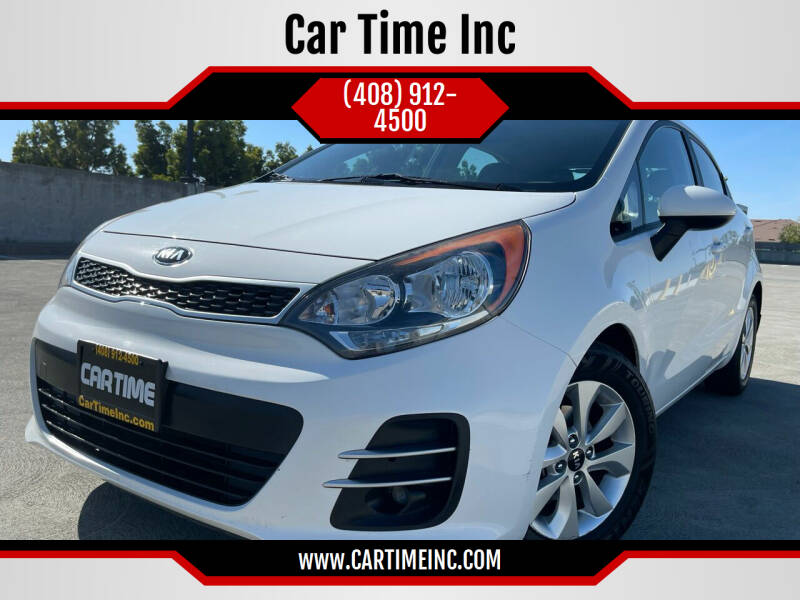2016 Kia Rio 5-Door for sale at Car Time Inc in San Jose CA