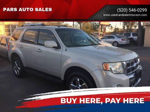 2009 Ford Escape for sale at PARS AUTO SALES in Tucson AZ