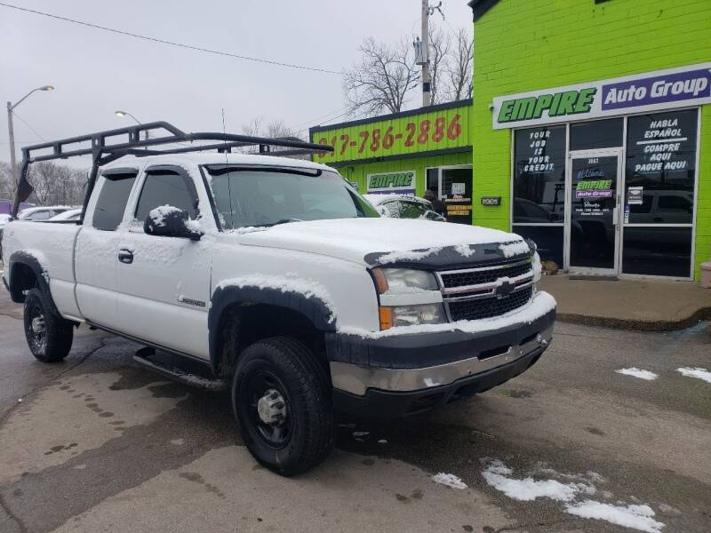 2006 Chevrolet Silverado 2500HD for sale at Empire Auto Group in Indianapolis IN
